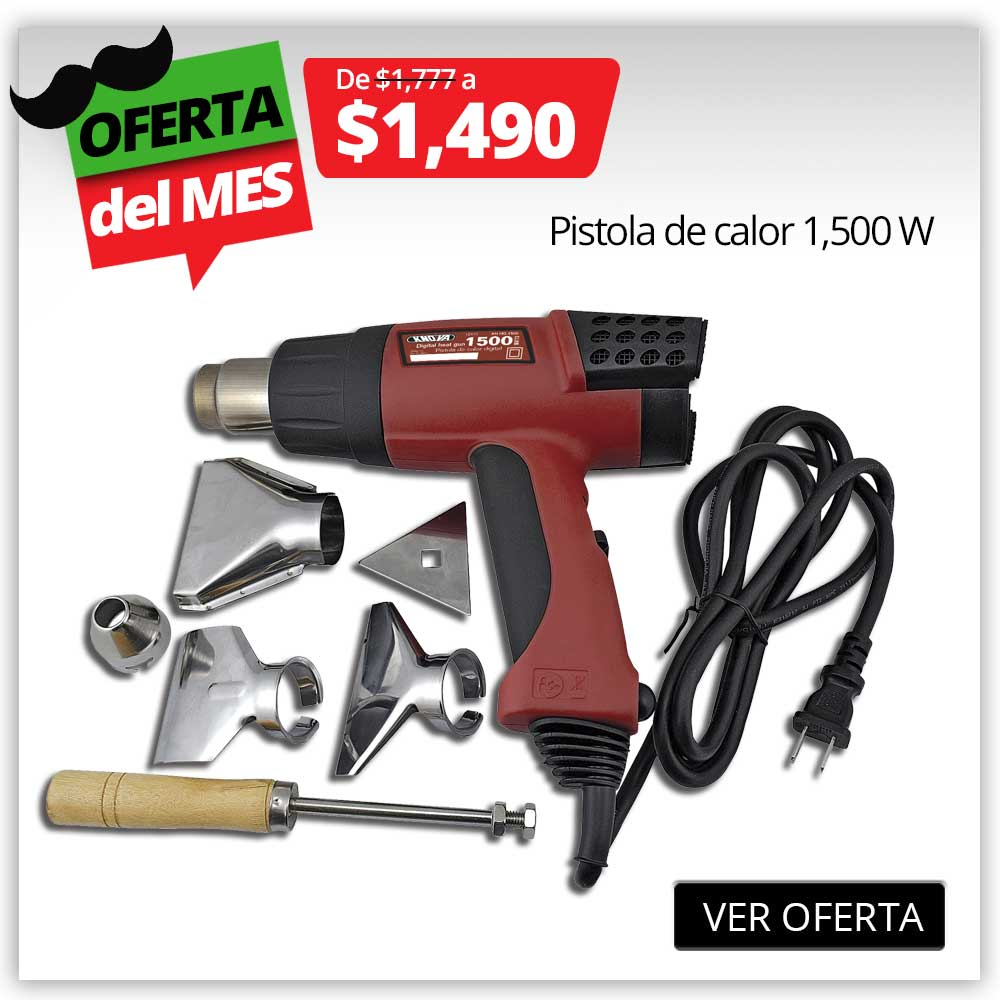 PRODUCTO PROMO SEPT - Pistola de Calor