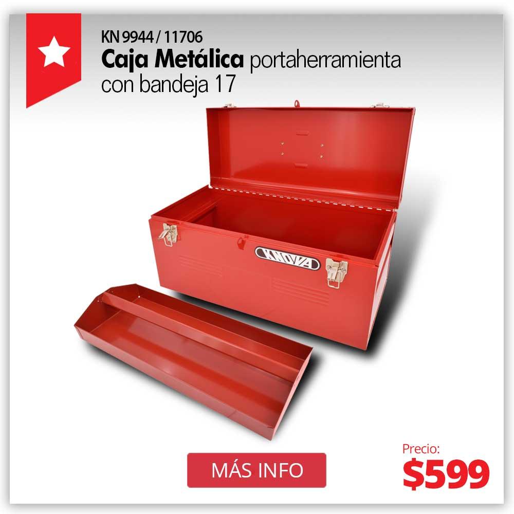 PRODUCTO ESTRELLA JUNIO - Caja metalica 3 gavetas