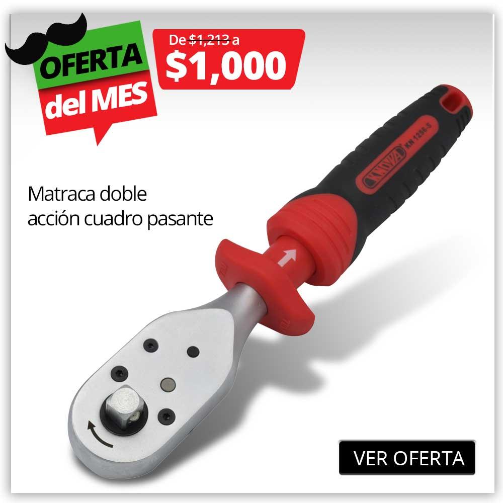 PRODUCTO PROMO SEPT -  MATRACA DOBLE