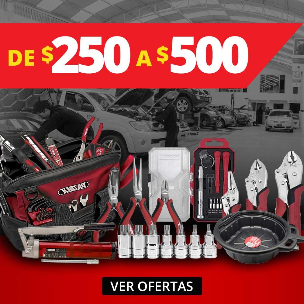 Rango precios 250 - 500  Septiembre