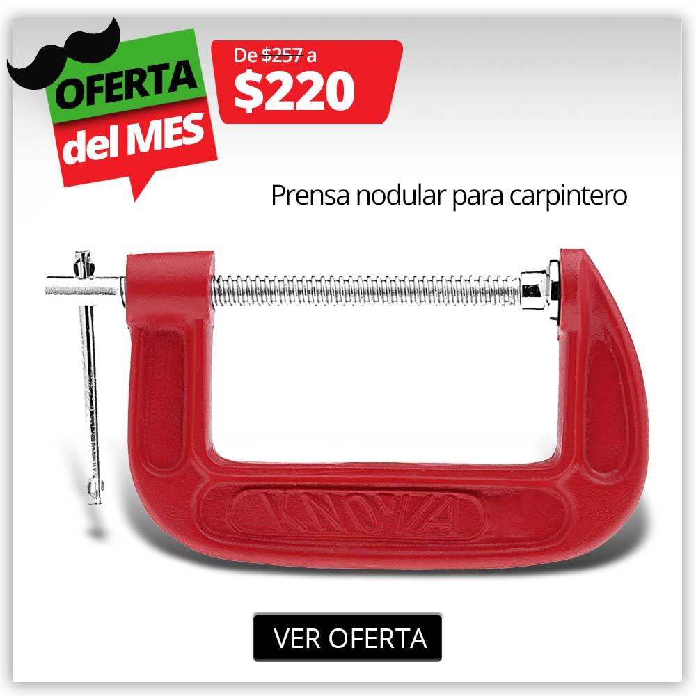 PRODUCTO PROMO SEPT -  Prensa Carpitero