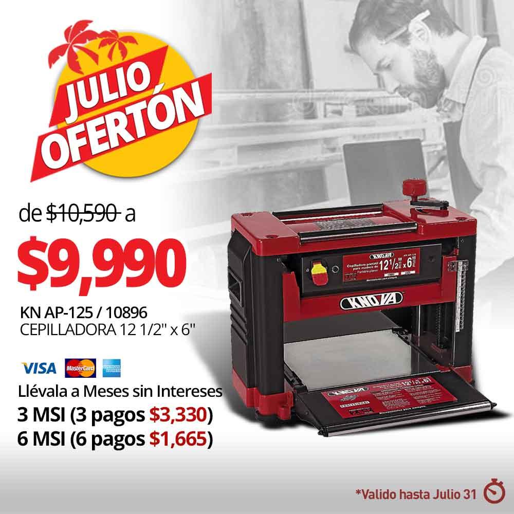 JULIO OFERTAS - CEPILLADORA 12