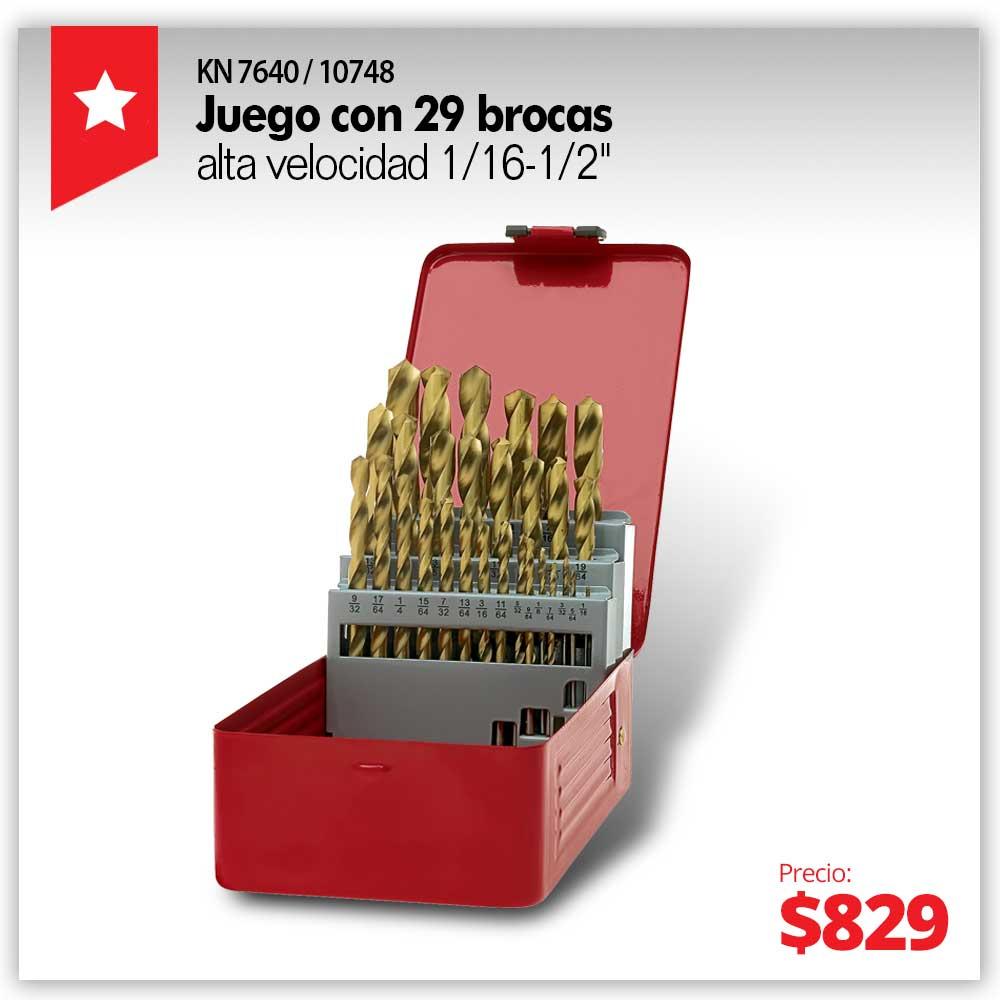 PRODUCTO ESTRELLA JUNIO -  JUEGO BROCAS 29